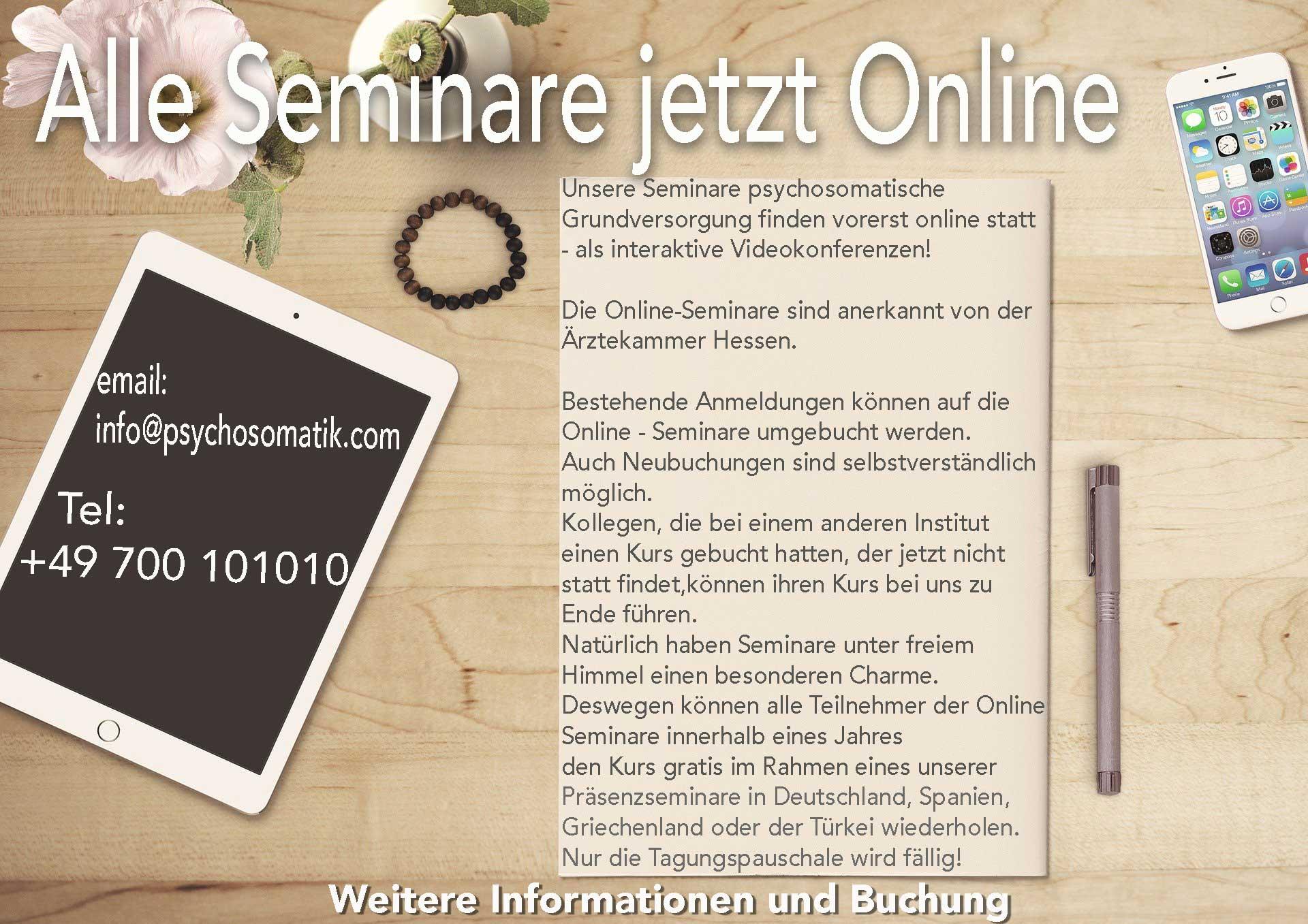 online seminare für Ärzte