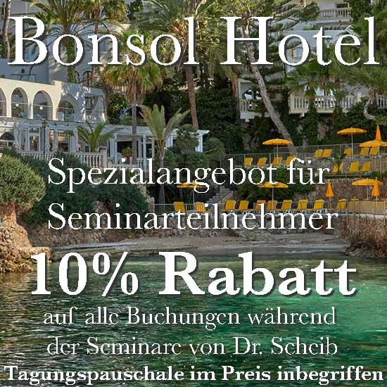 Sonderangebot Hotel Bonsol Mallorca für Seminarteilnehmer