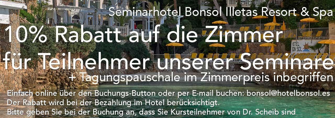 Ärzteseminare Hotel Bonsol Mallorca Sonderangebot