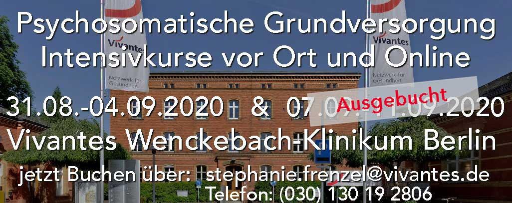 Kurs psychosomatische Grundversorgung Berlin, Wenckebach-klinikum, auch online