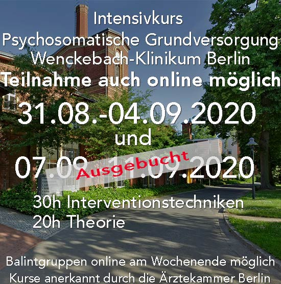 Kurs psychosomatische grundversorgung Berlin, online Kurse für Ärzte