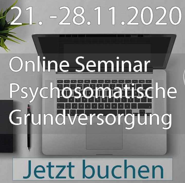 online seminar psychosomatische Grundversorgung November 2020