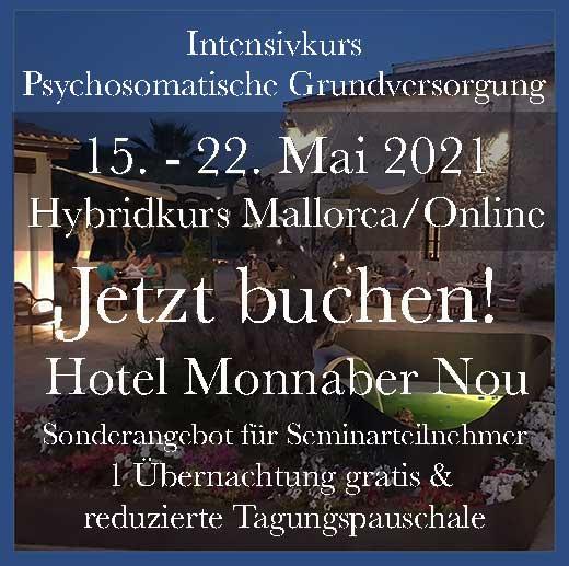 psychosomatische Grundversorgung Kurs online Mallorca Hybridkurs