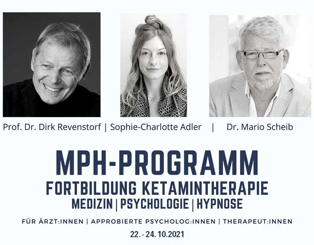 Ketamin-Hypnose-Fortbildung 2021