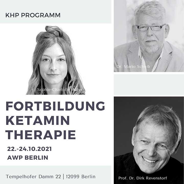Ketaminfortbildung Berlin 2021