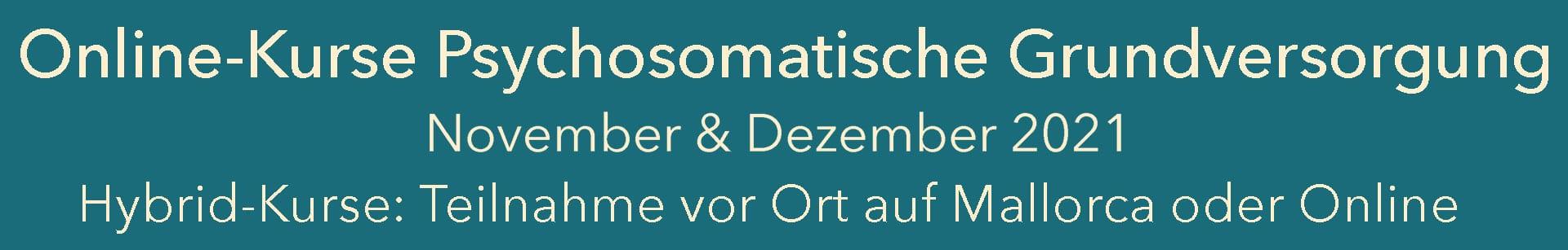 online Kurse psychosomatische Grundversorgung